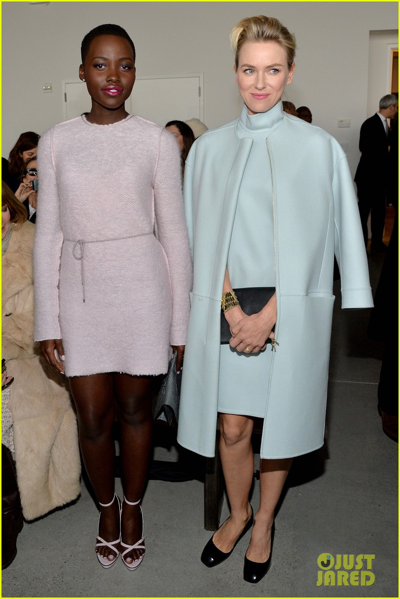 naomi watts lupita nyongo are classy gorgeous at calvin klein fashion show 05