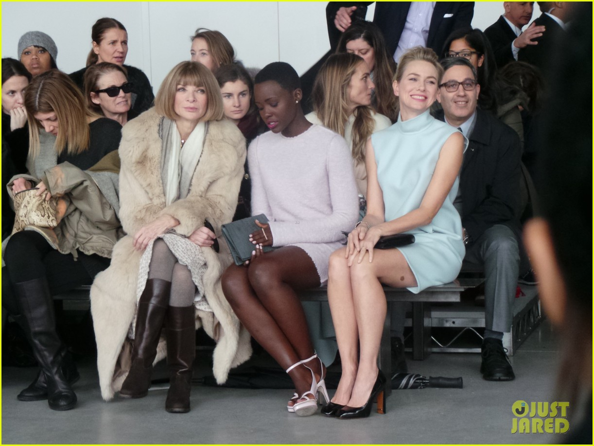 naomi watts lupita nyongo are classy gorgeous at calvin klein fashion show 06