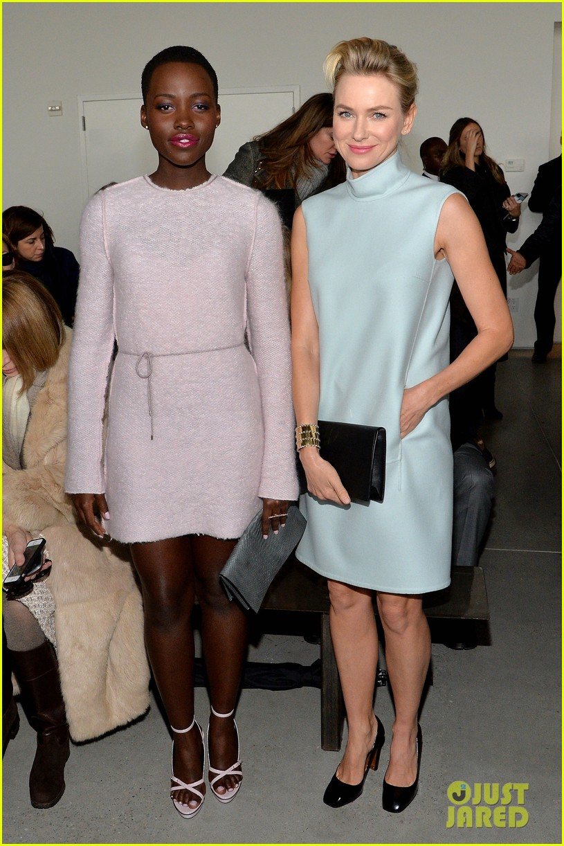 naomi watts lupita nyongo are classy gorgeous at calvin klein fashion show 07