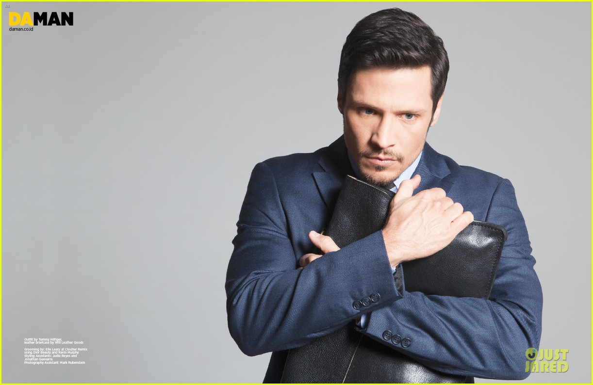 nick wechsler flashes shirtless abs for da man magazine 18