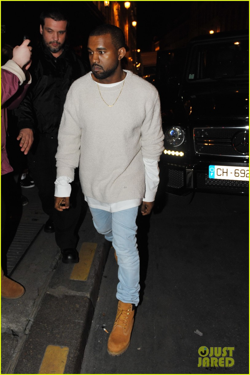 kanye west roams around paris while kendall jenner flies in 05