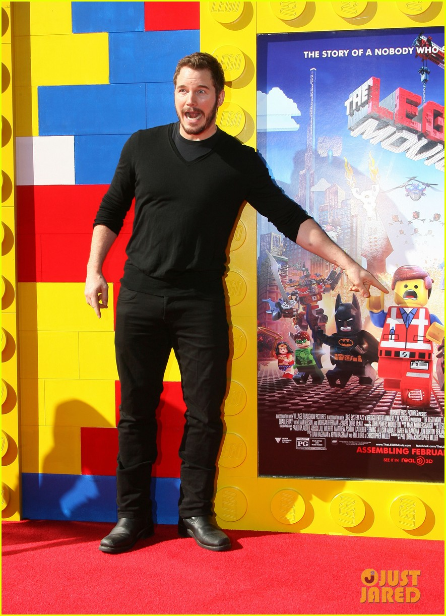 elizabeth banks will ferrell the lego movie premiere 053045730
