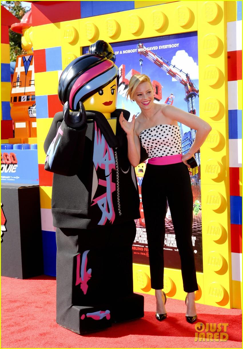 elizabeth banks will ferrell the lego movie premiere 183045743