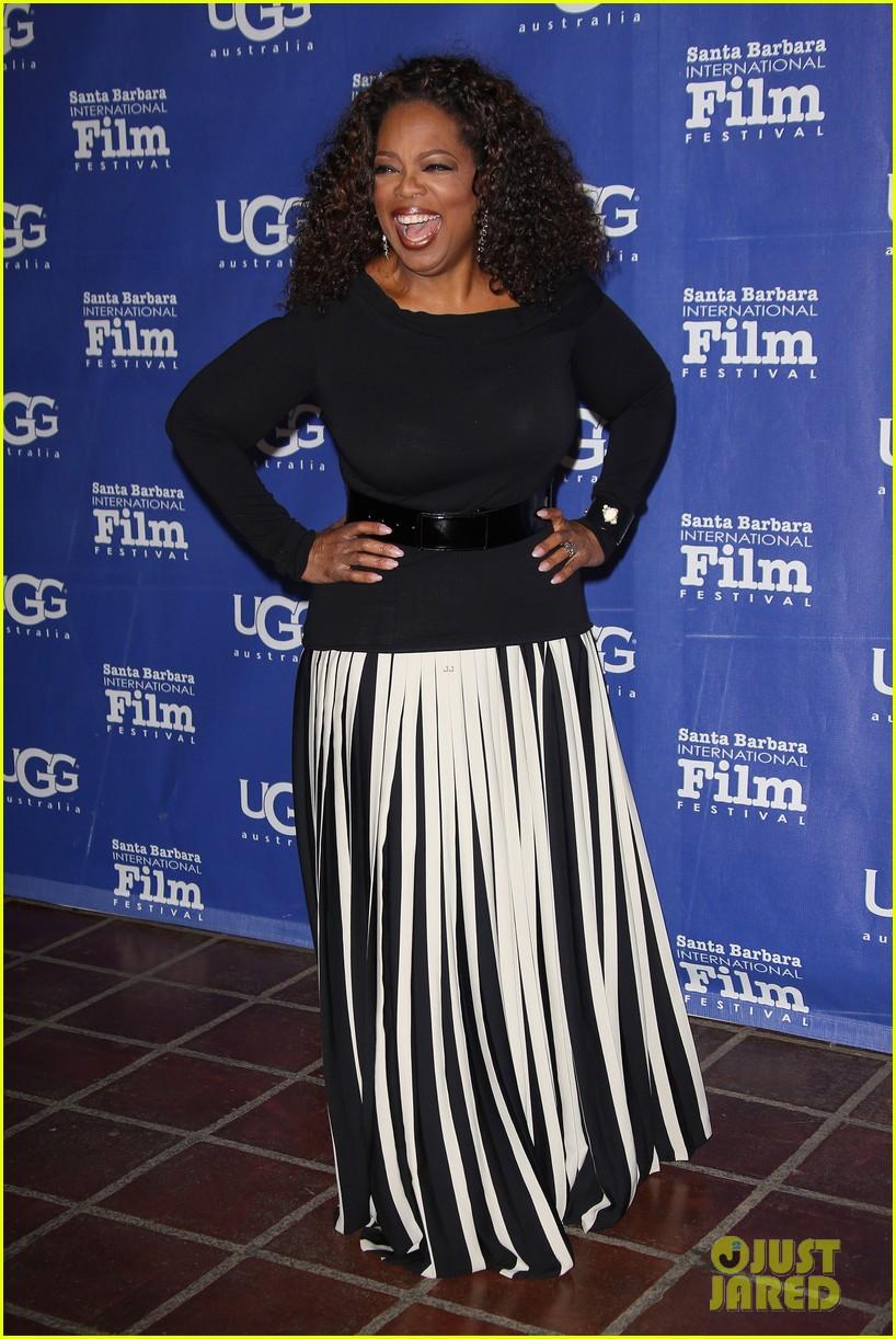 oprah winfrey receives montecito award at sbiff 2014 103048409