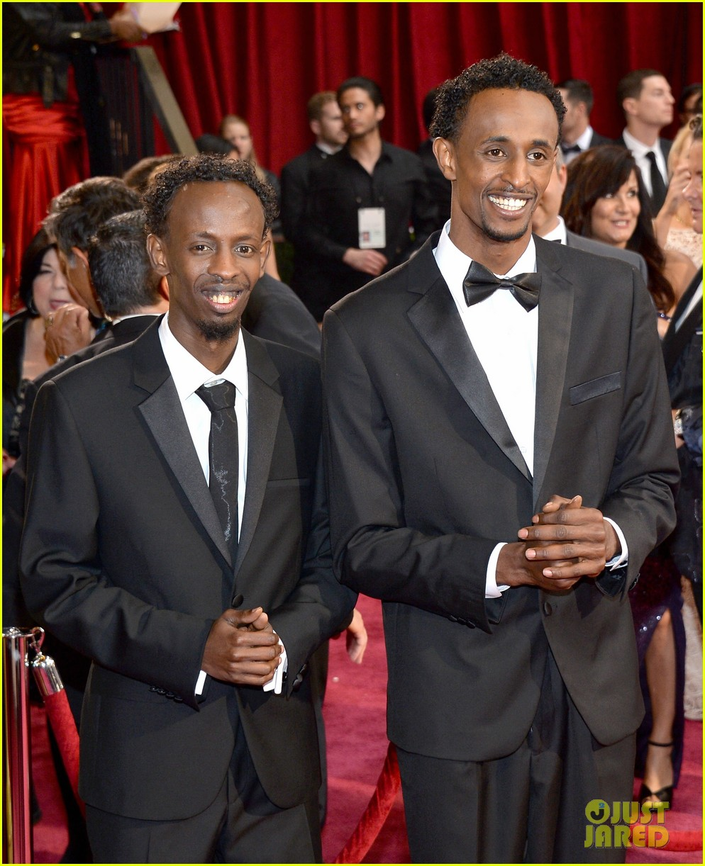 barkhad abdi is the captain now at oscars 2014 red carpet 01