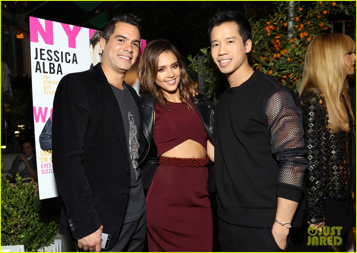 jessica alba celebrates nylon cover with hubby cash warren 06