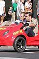 alex oloughlin scott caan drive around in a tiny rental car for hawaii 50 01