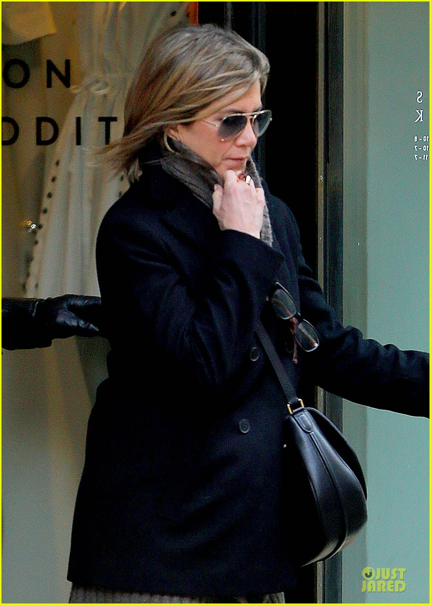 jennifer aniston justin theroux spotted in nyc 023069501