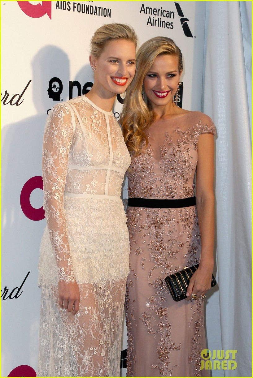 ireland baldwin chanel iman vanity fair oscar party 2014 063064833