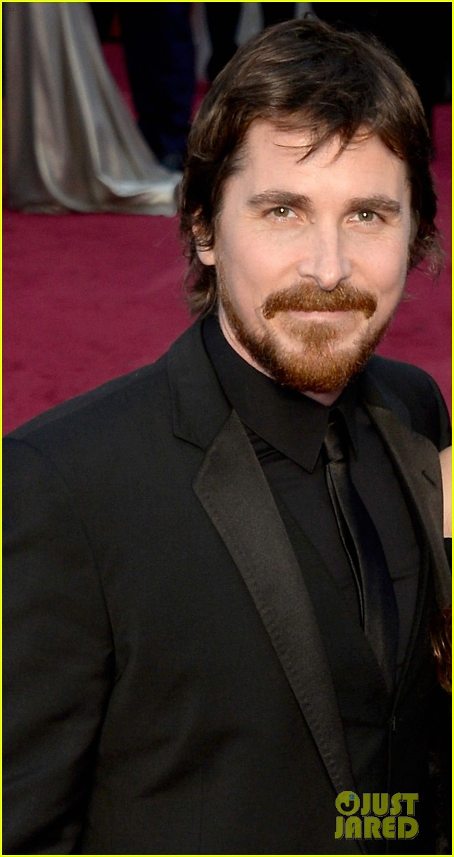 christian bale wife sibi blazic oscars 2014 red carpet 02