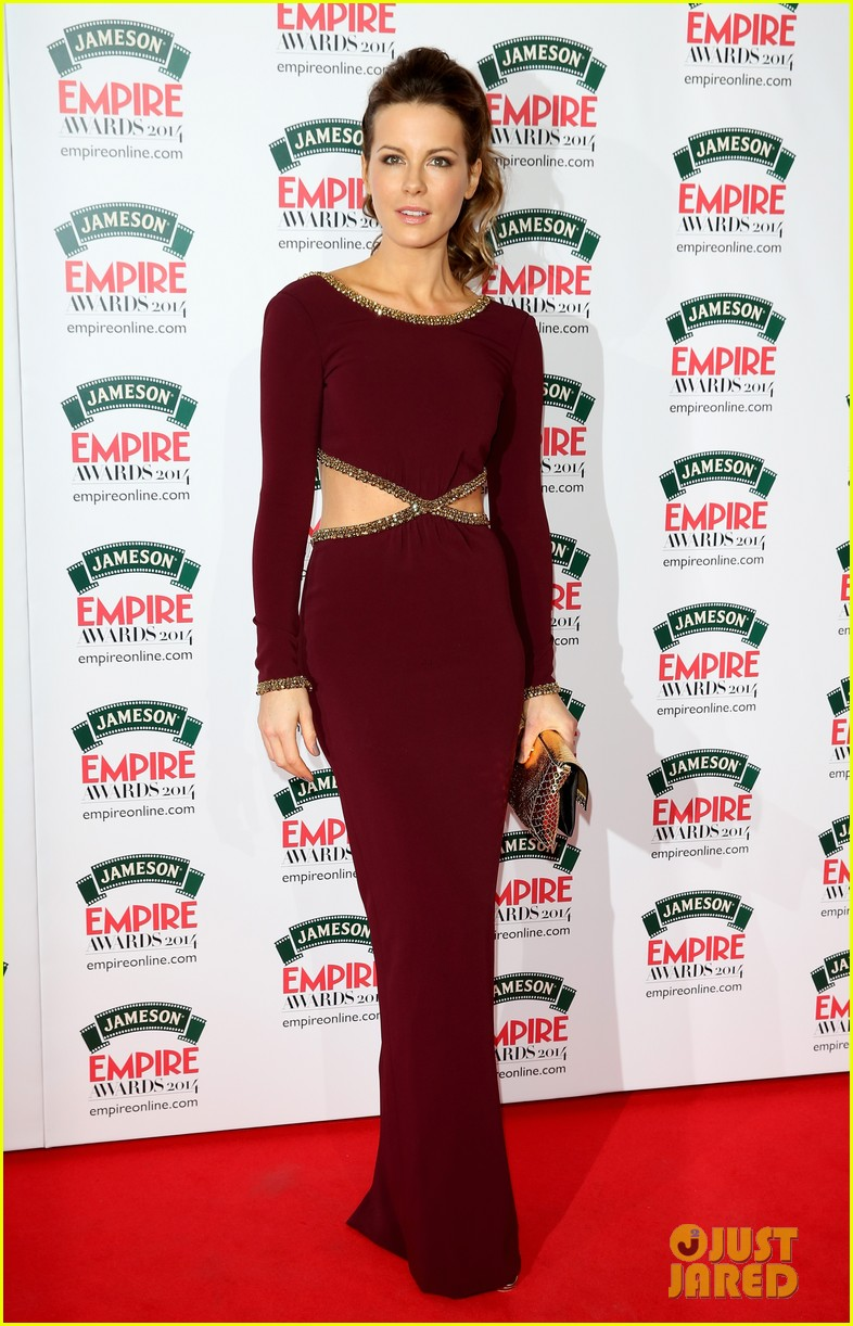 kate beckinsales cutout dress jameson empire awards 2014 013081802
