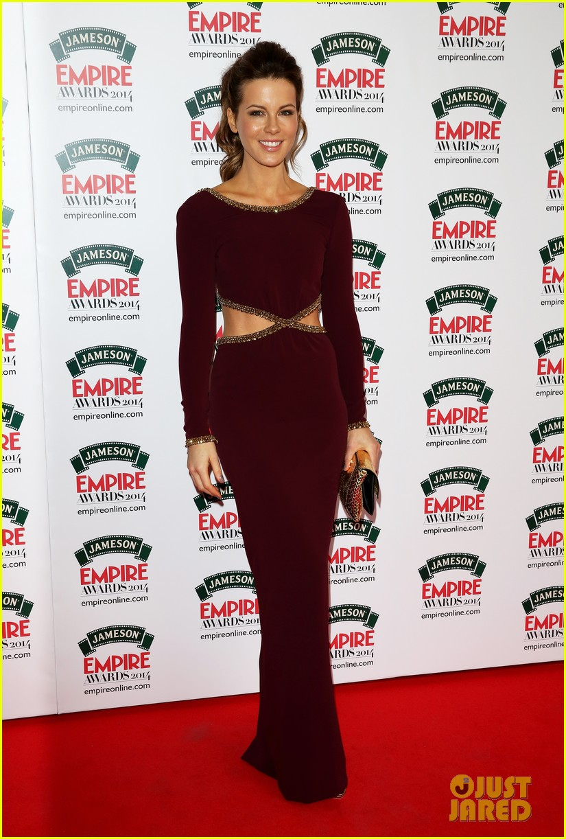kate beckinsales cutout dress jameson empire awards 2014 033081804