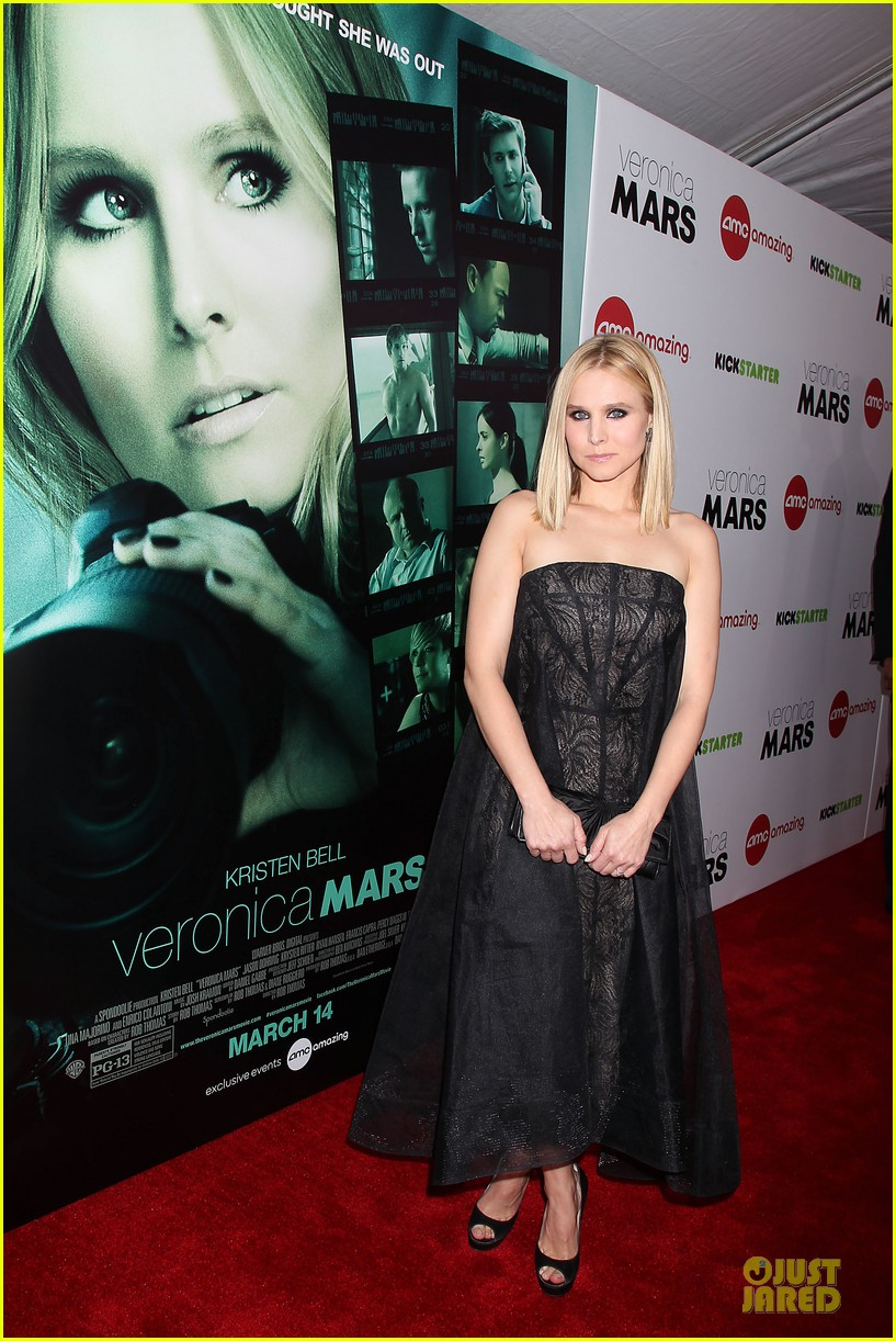 kristen bell chris lowell glam up the veronica mars nyc screening 163069542