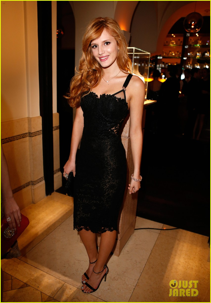bella thorne colton haynes pre oscars bash claudia lee 023063541