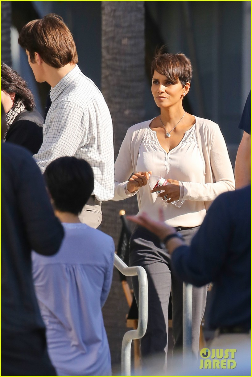 halle berry gets to work on extant 12