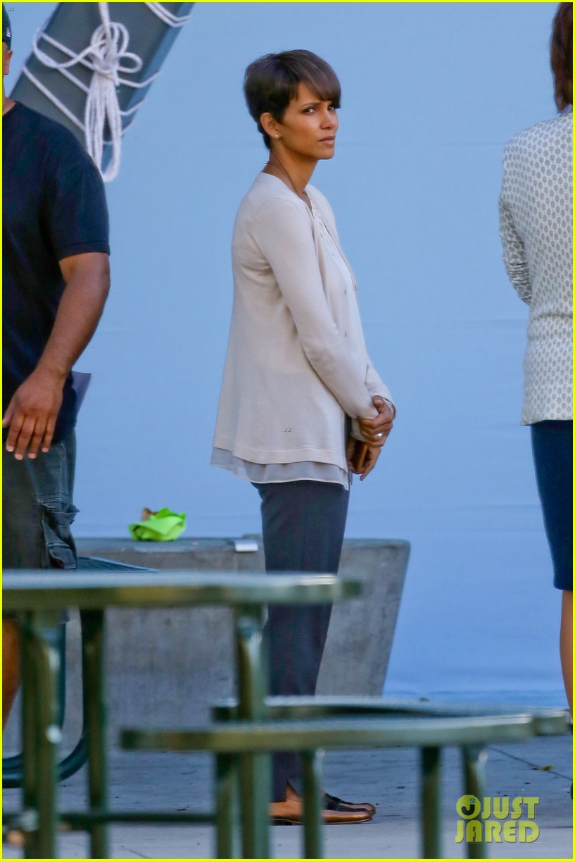 halle berry gets to work on extant 19