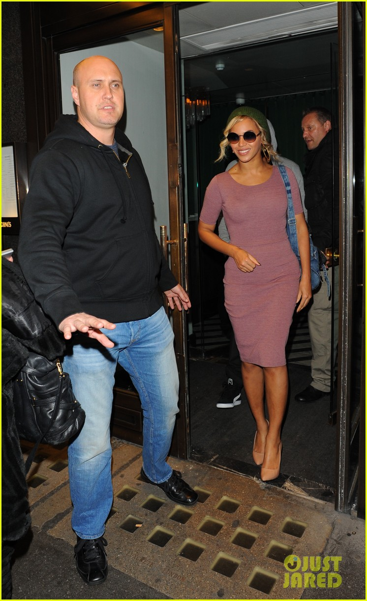 beyonce jay z date night in london before ireland shows 18