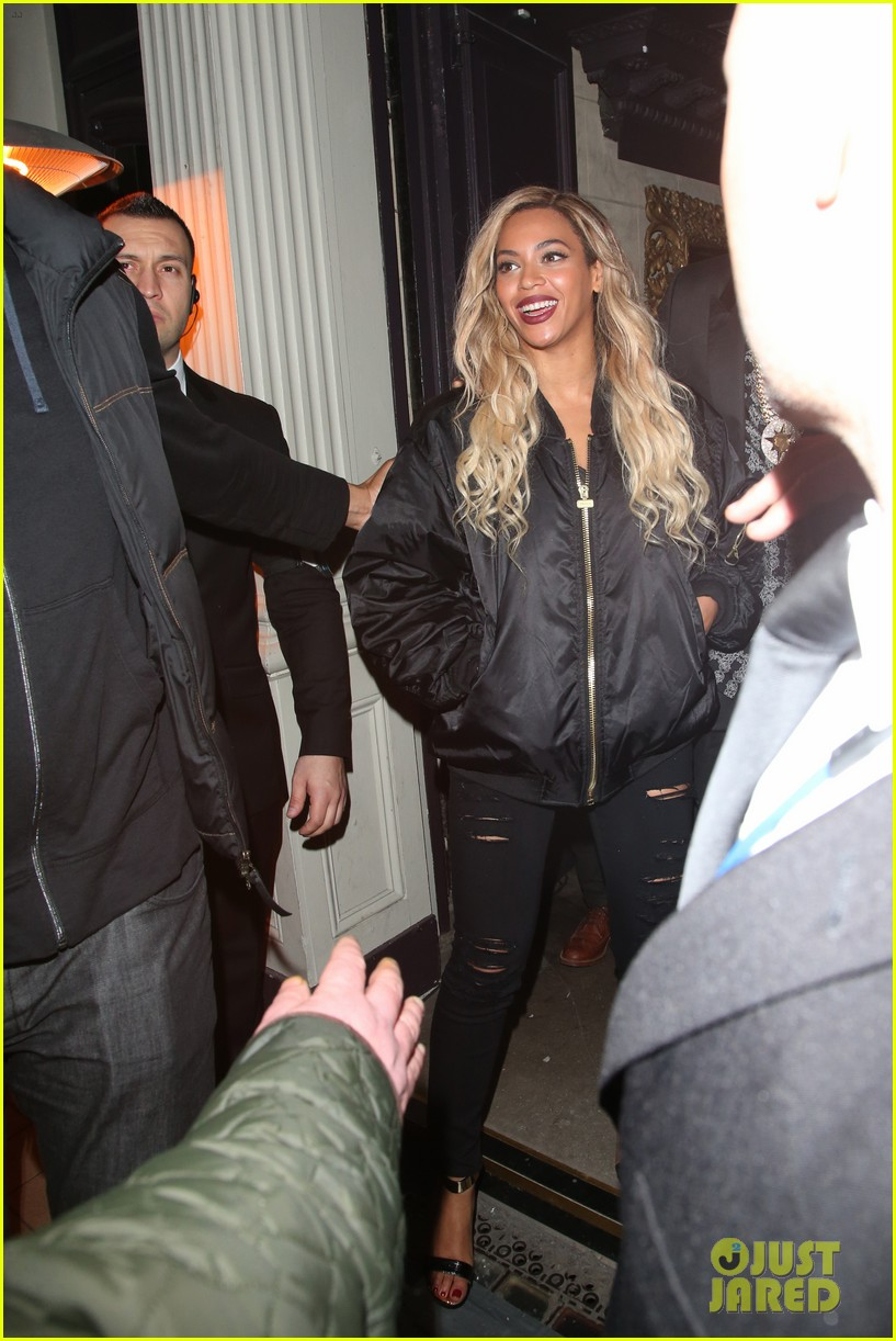 beyonce jay z party at mason house after london concert 01