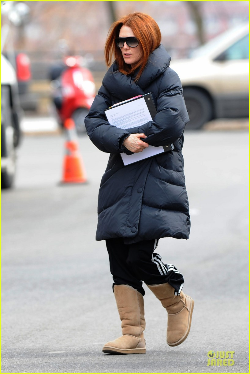 kate bosworth hides her water on still alice set 25