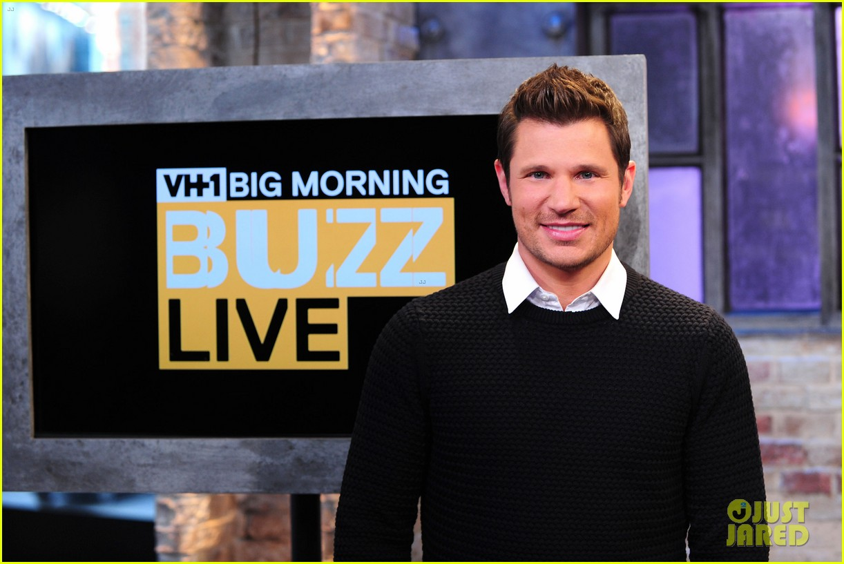sophia bush nicky lachey reminisce about kissing on big morning buzz live 10