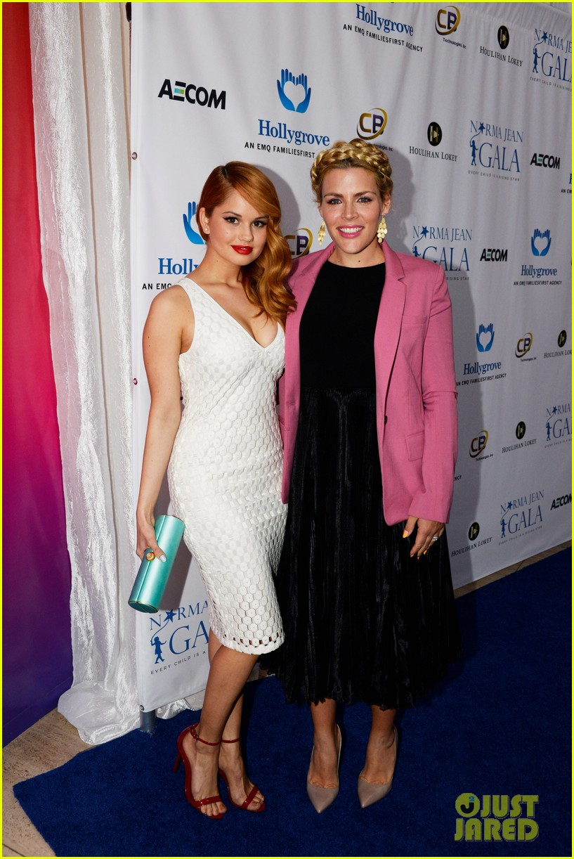 busy philipps debby ryan are two gorgeous ladies at norma jean dinner 02