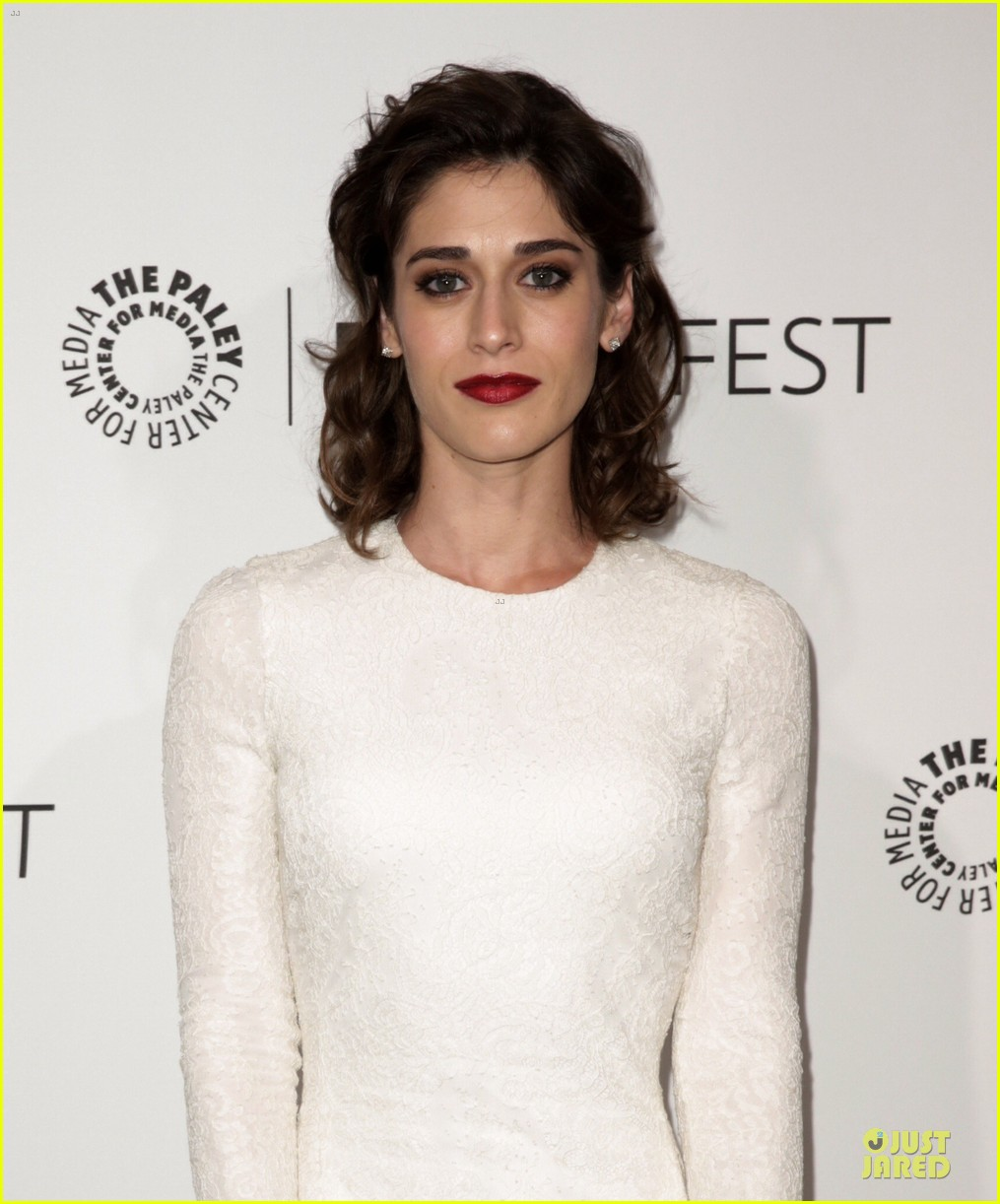 lizzy caplan michael sheen masters of sex at paleyfest 10