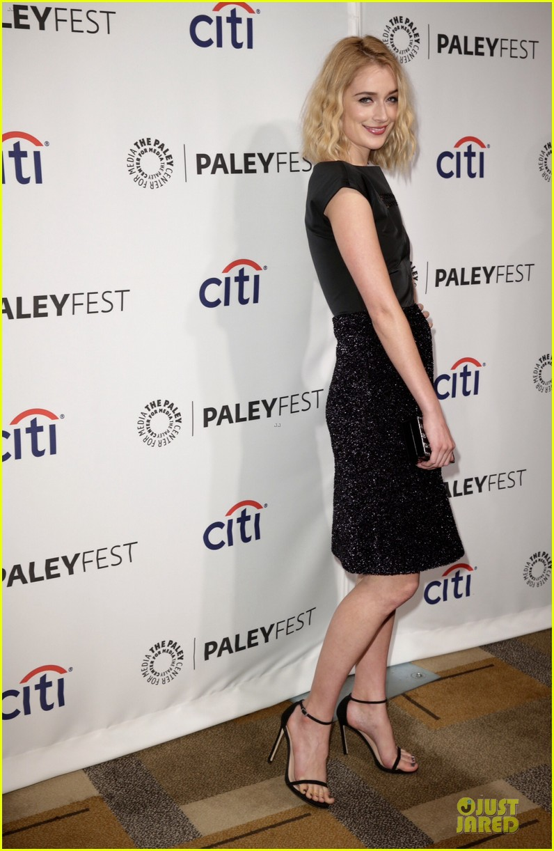 lizzy caplan michael sheen masters of sex at paleyfest 13