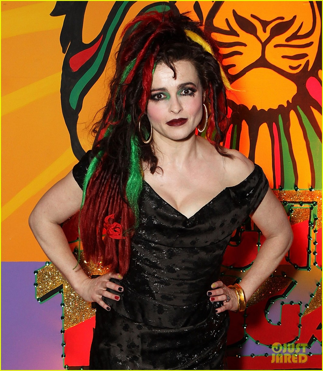 helena bonham carter multi colored dreadlocks 053071029