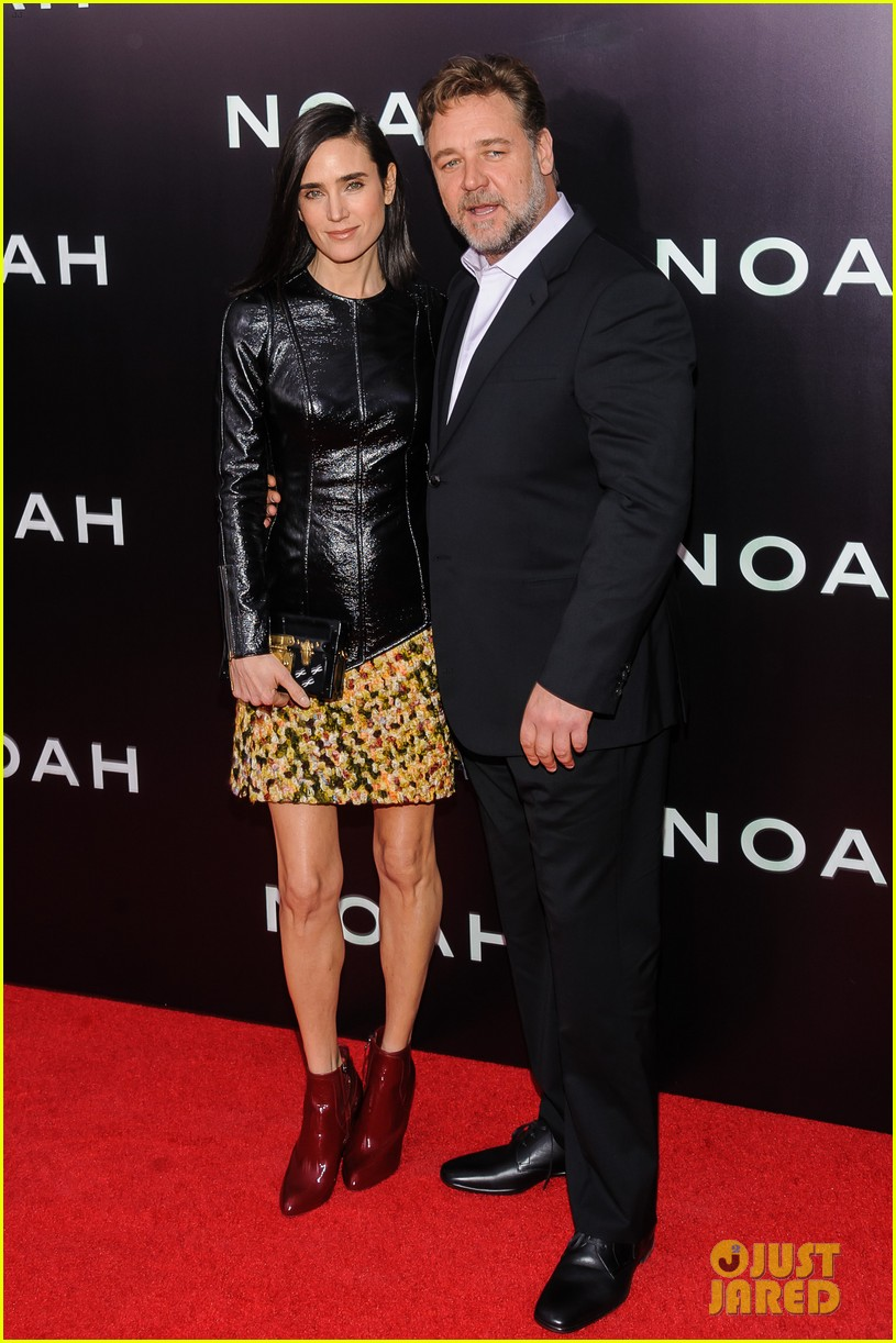 jennifer connelly russell crowe noah nyc premiere 01