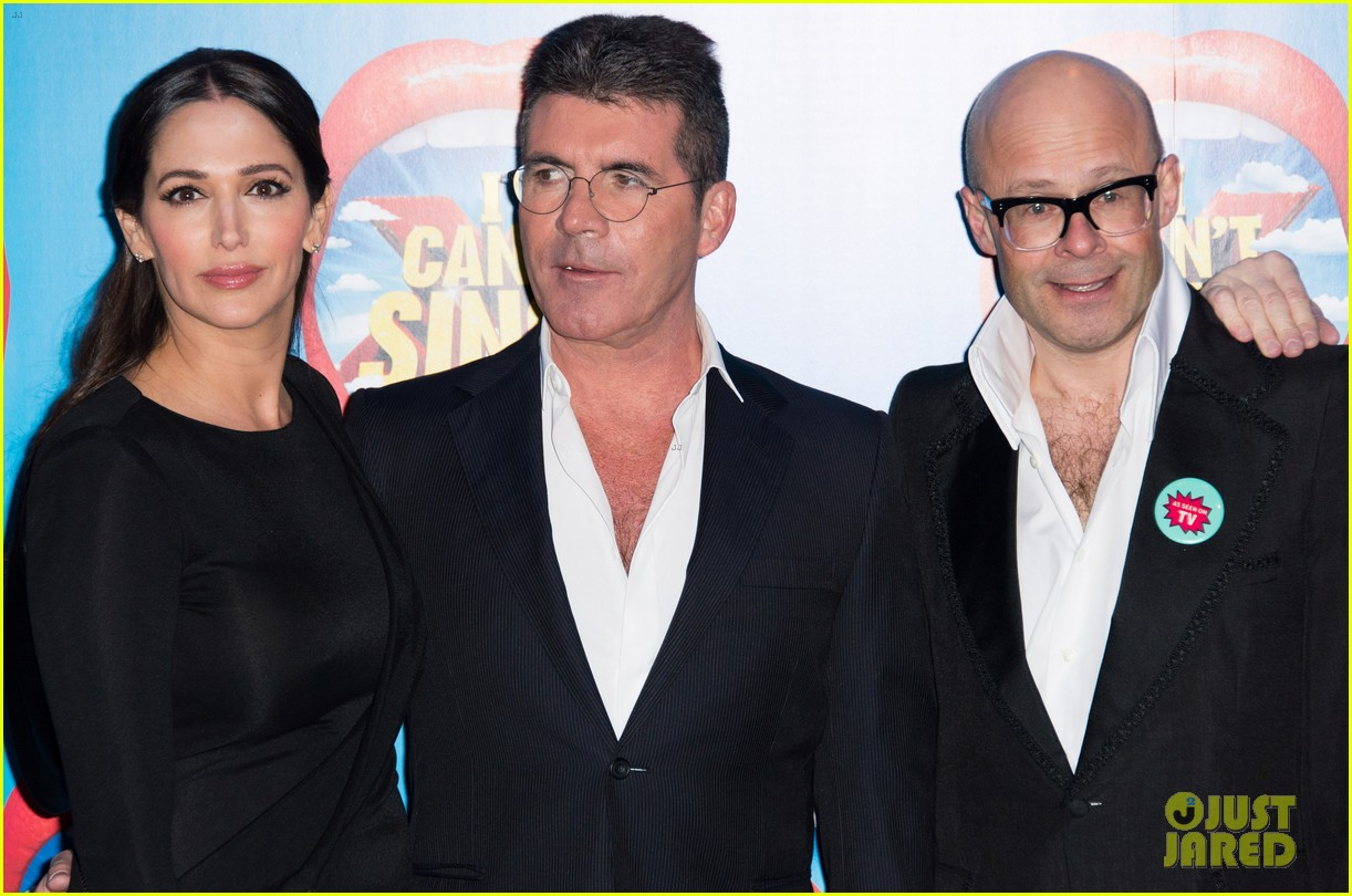 simon cowell lauren silverman first red carpet 03
