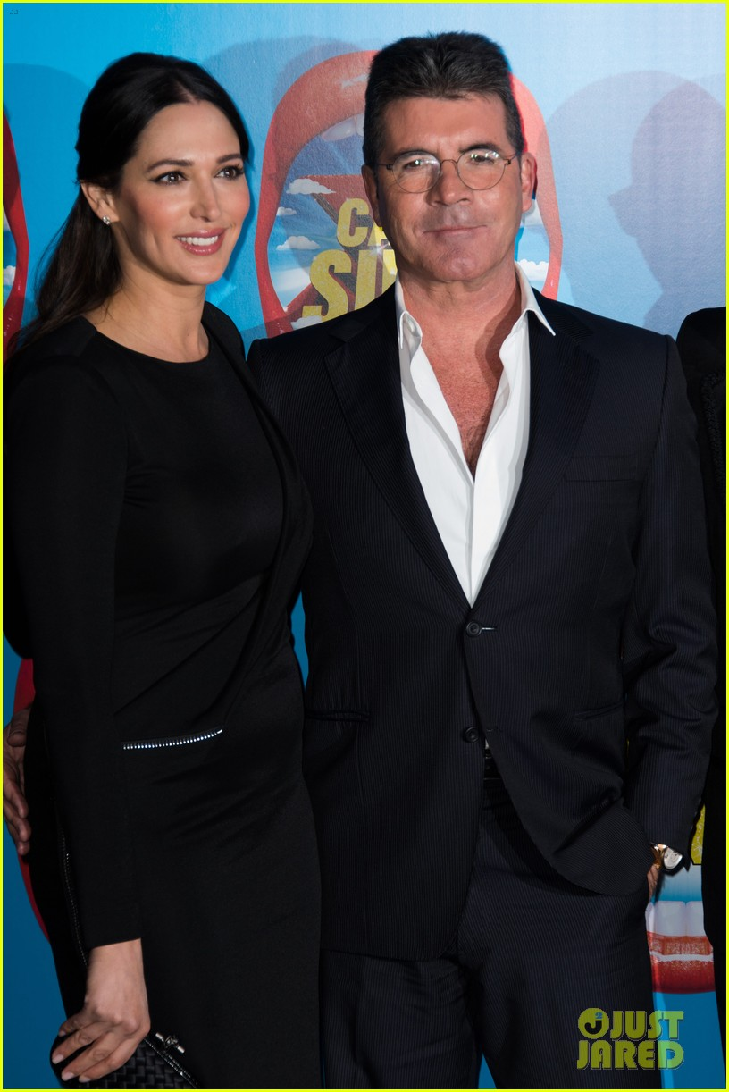 simon cowell lauren silverman first red carpet 04