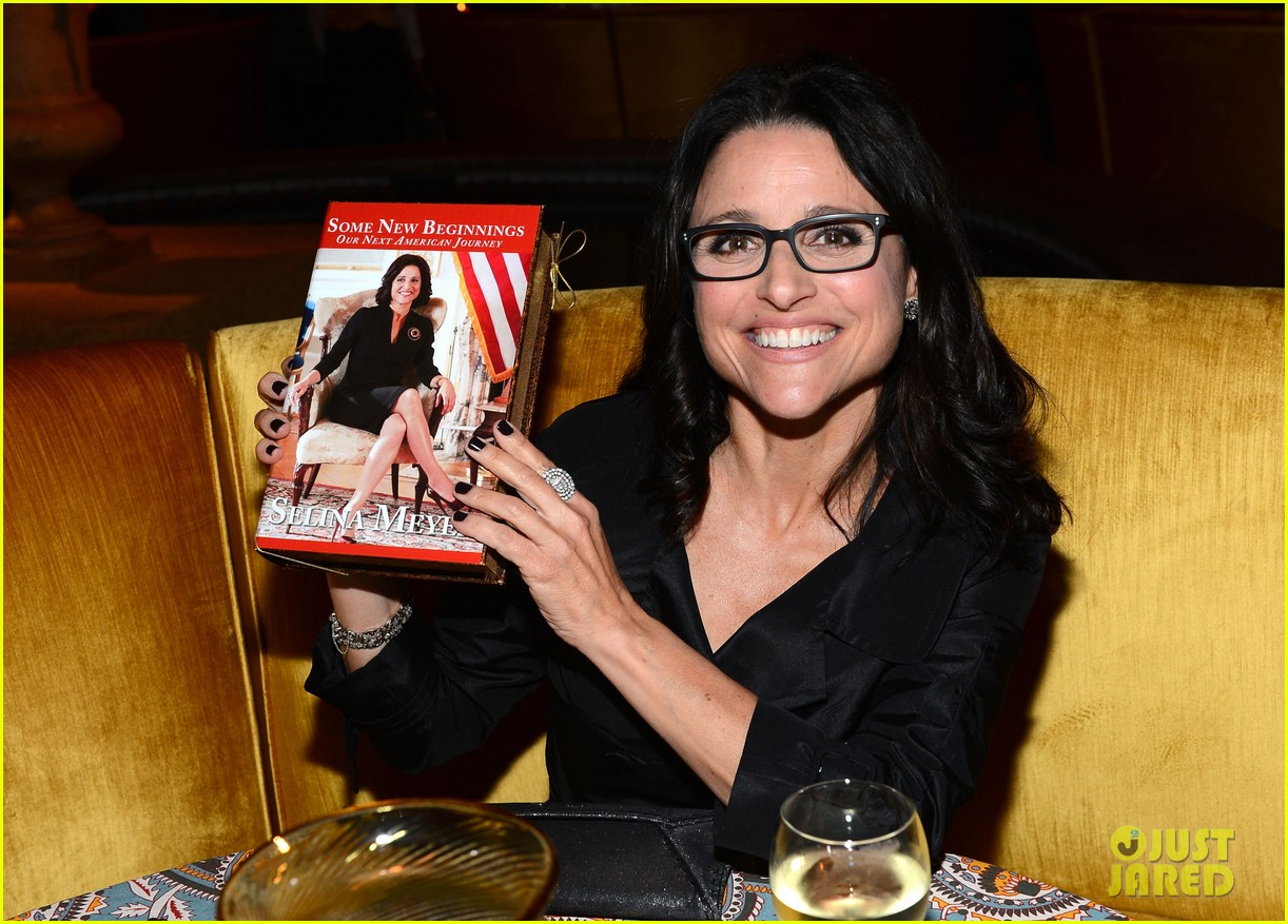 julia louis dreyfus celebrates the season three premiere of veep 033078247
