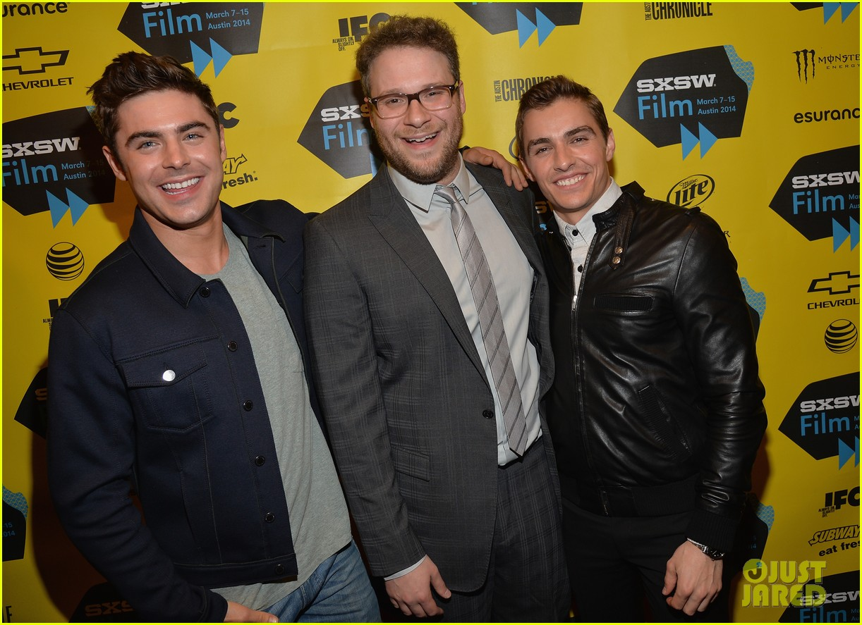 zac efron brings his next shirtless movie neighbors to sxsw 24