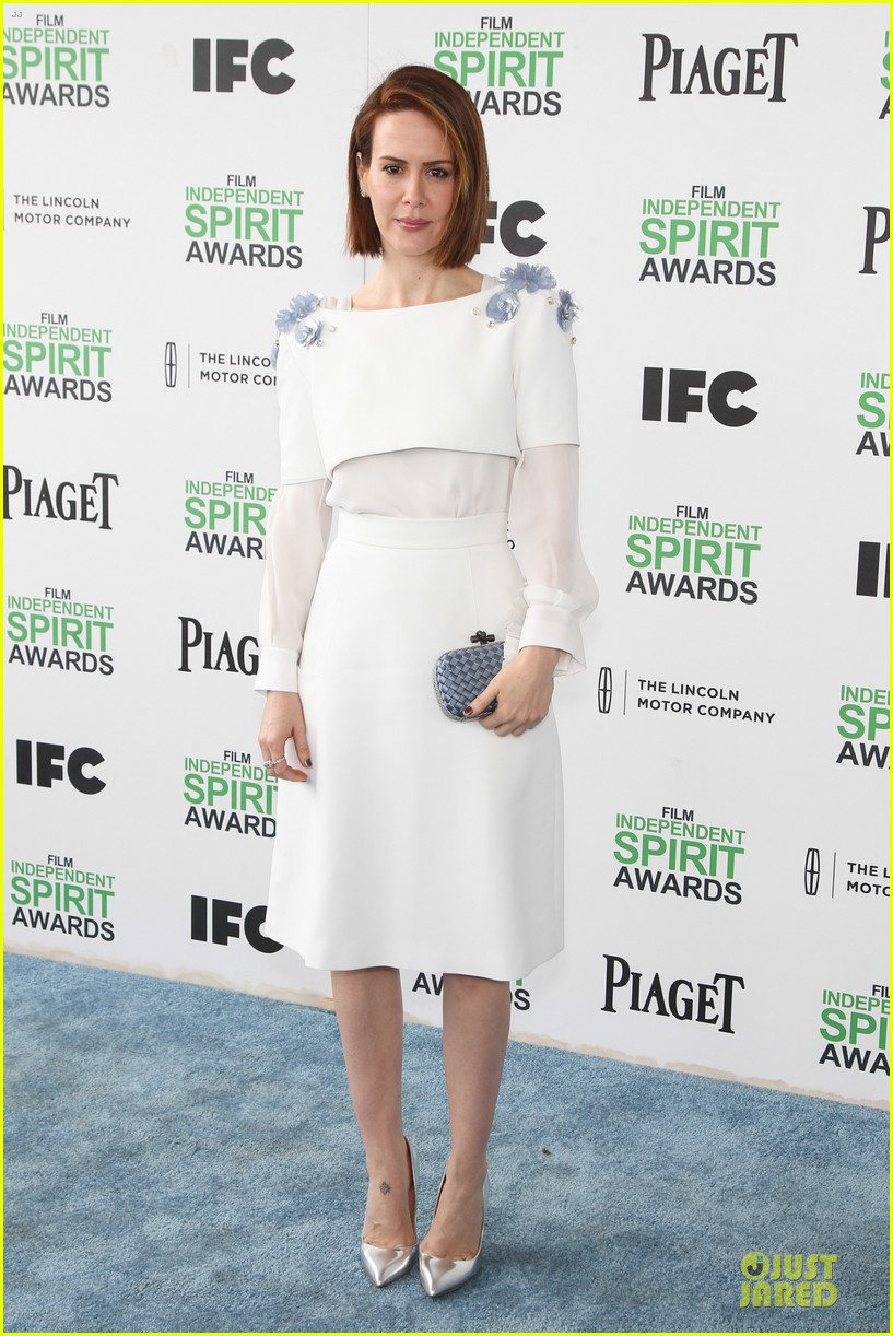 michael fassbender sarah paulson independent spirit awards 2014 10