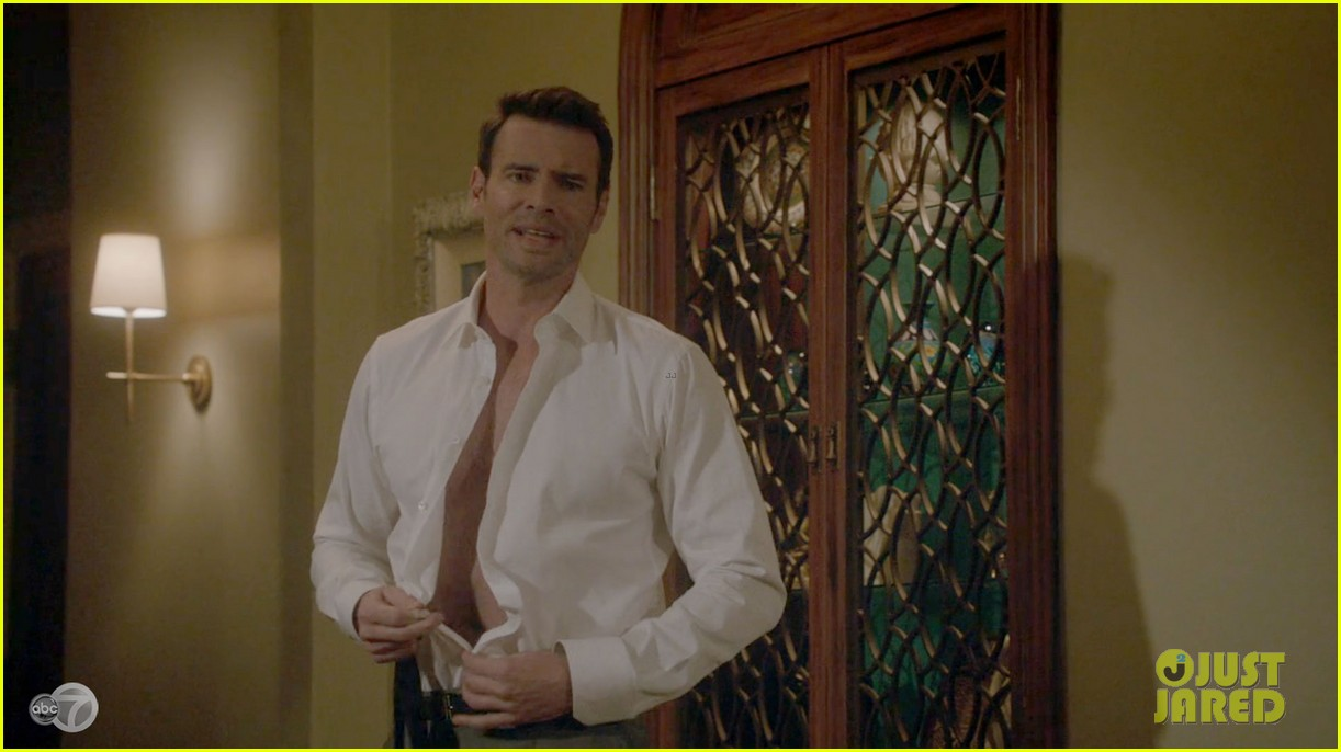 scott foley shirtless on scandal 143068533