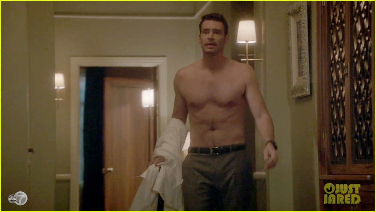 scott foley shirtless on scandal 153068534