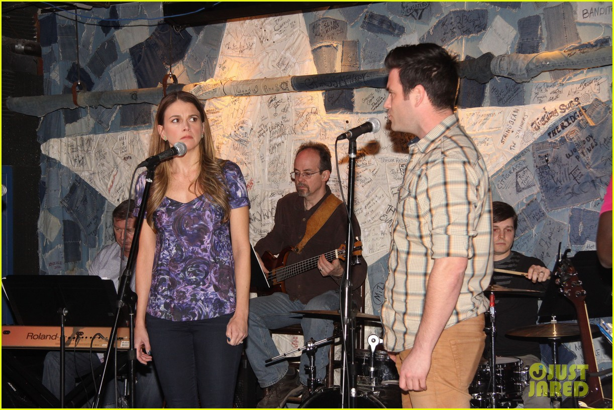 sutton foster colin donnell preview broadway musical violet 08