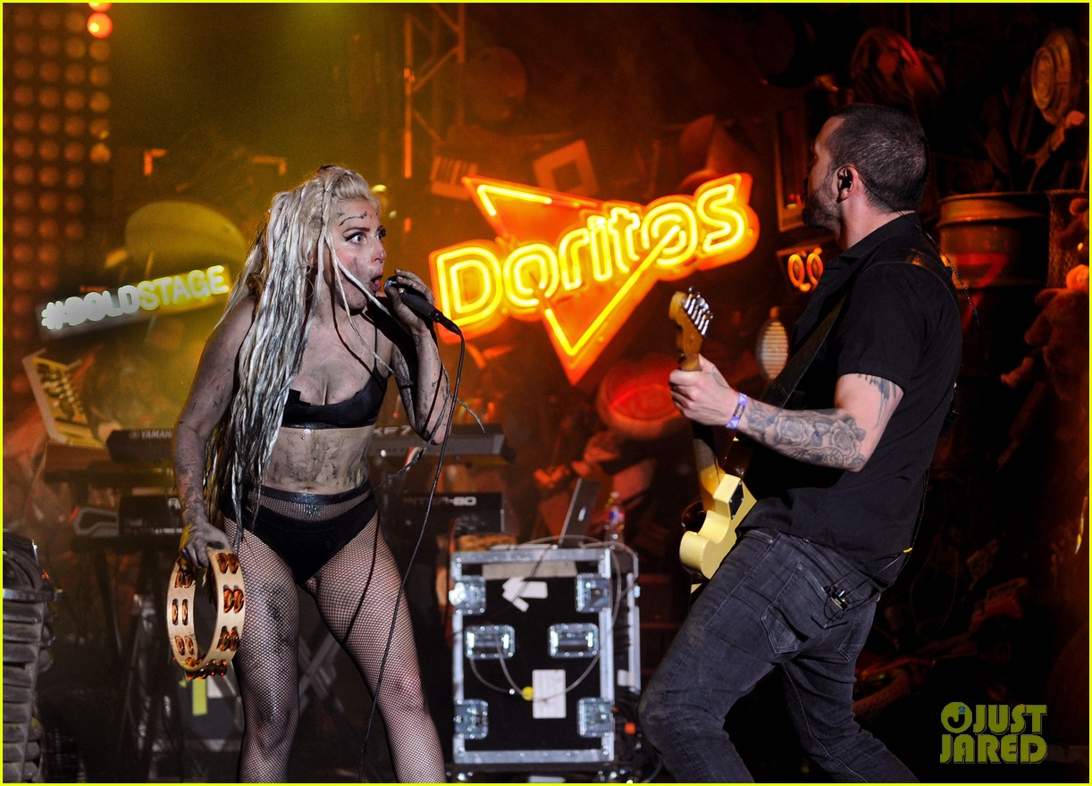 lady gaga gets puked on at sxsw concert 083071692