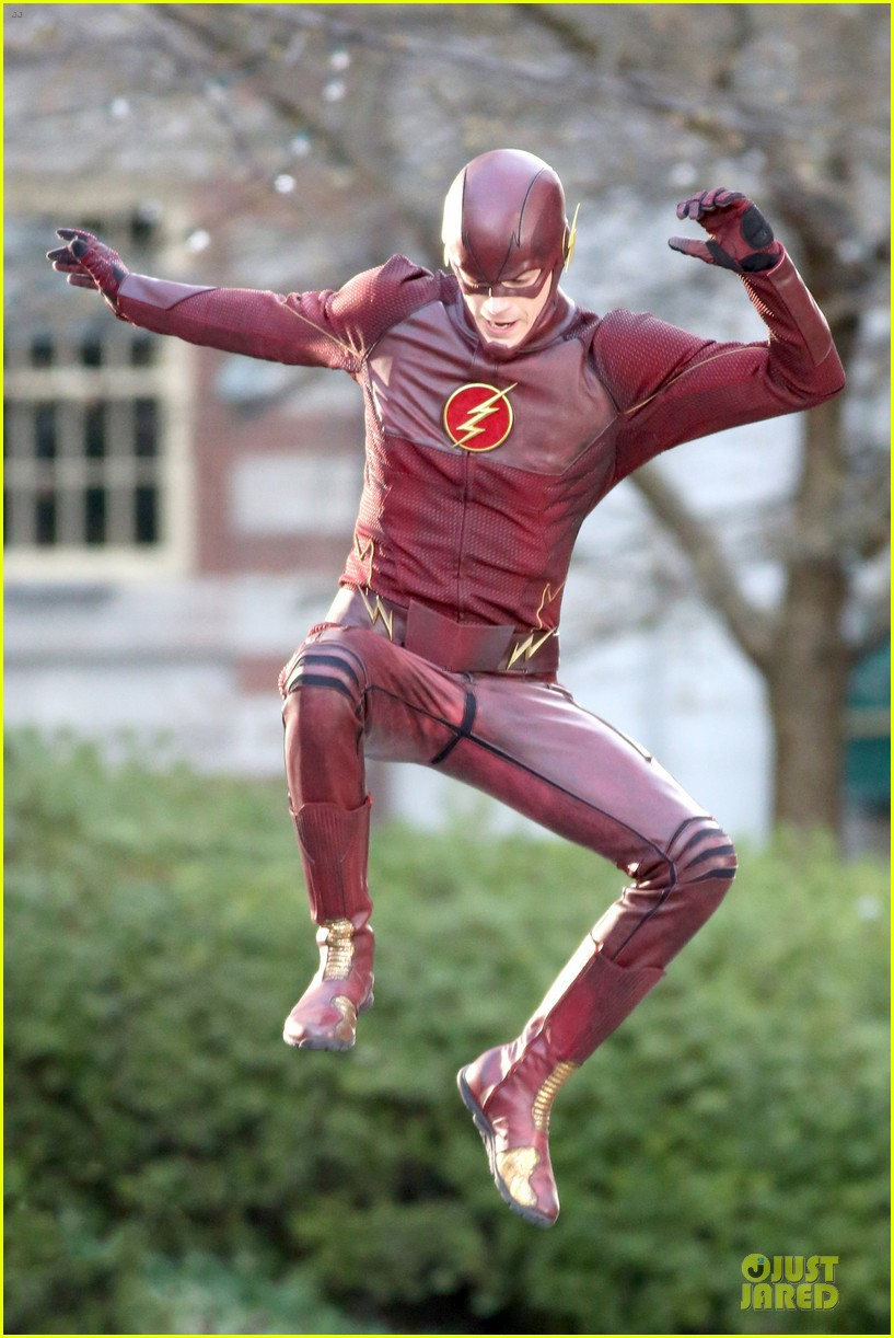 grant gustin is proud stoked to wear flash costume 06