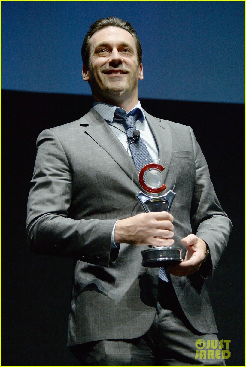 jon hamm excellence in acting award cinemacon 10