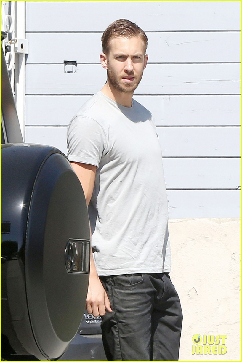 calvin harris teases new music video with super hot shirtless pics 08