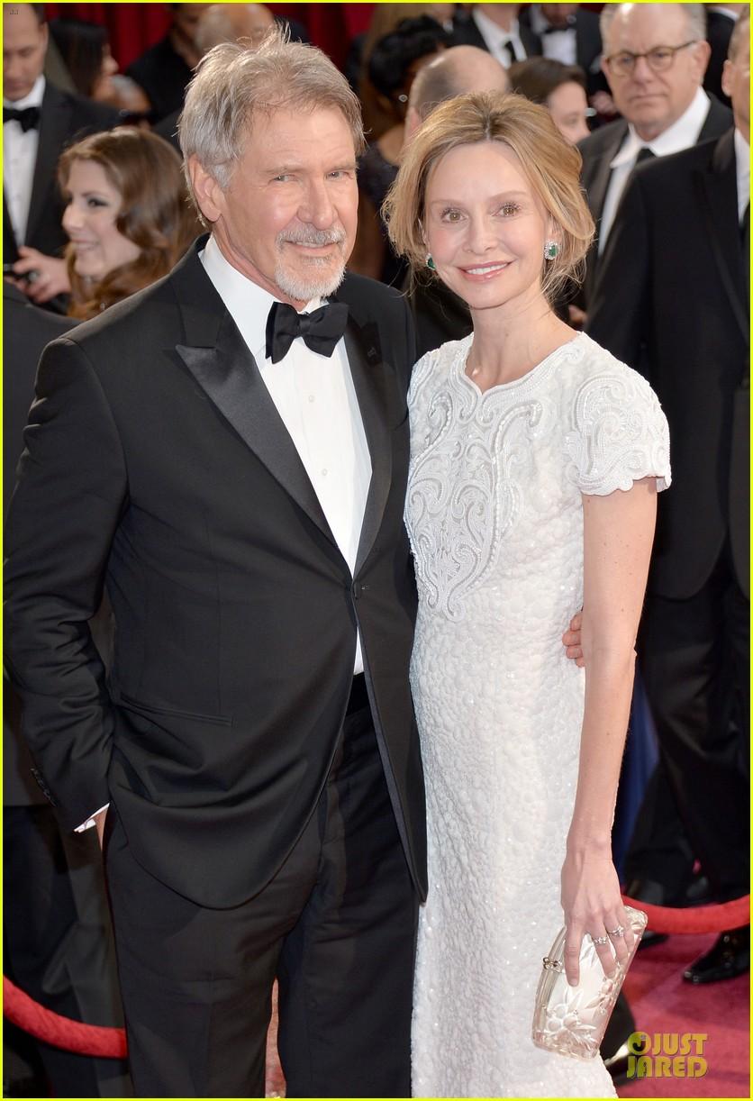 Harrison Ford & Calista Flockhart - Oscars 2014 Red Carpet: Photo 3064009   2014 ...  Harrison