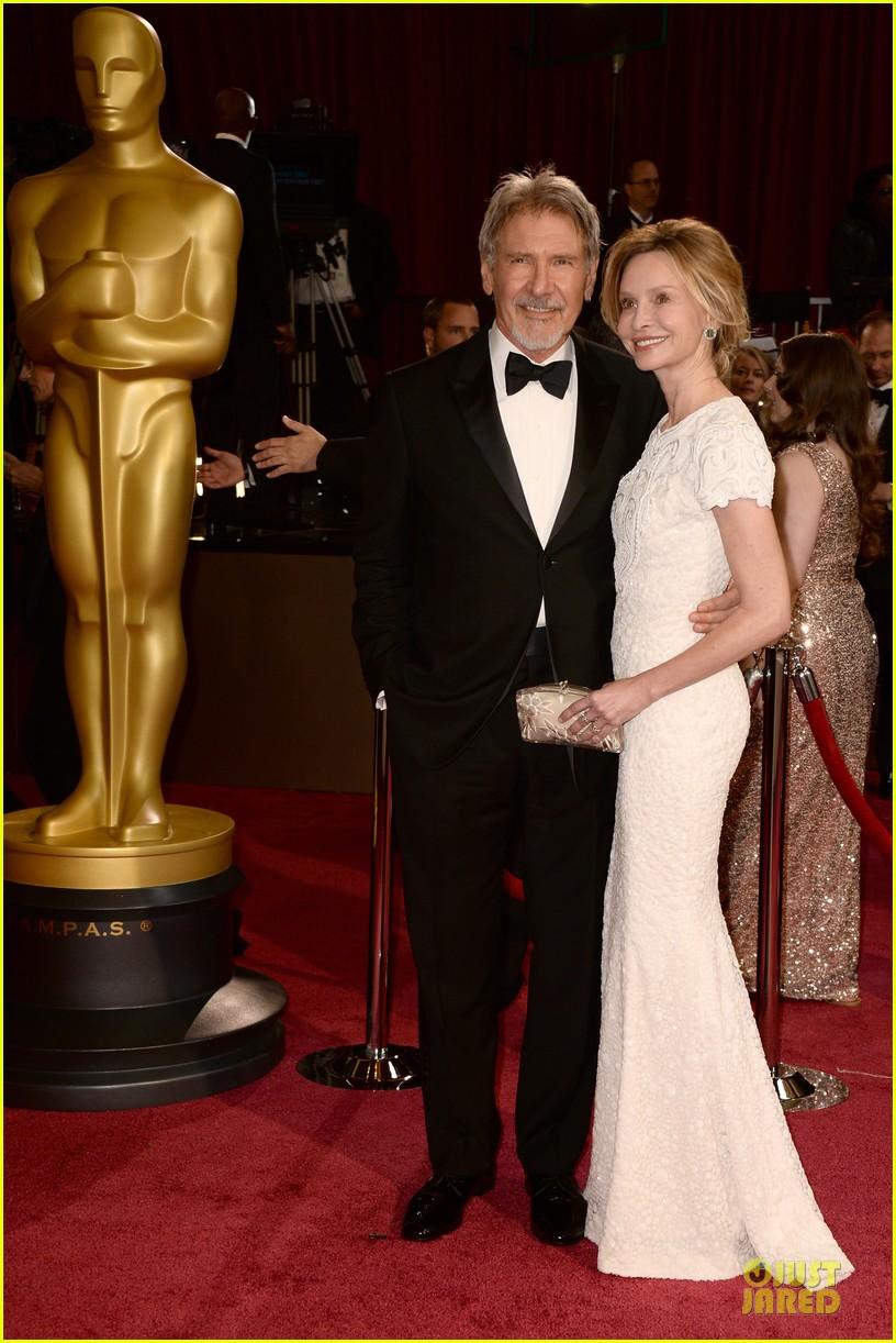 Harrison Ford & Calista Flockhart - Oscars 2014 Red Carpet: Photo 3064010   2014 ...  Harrison