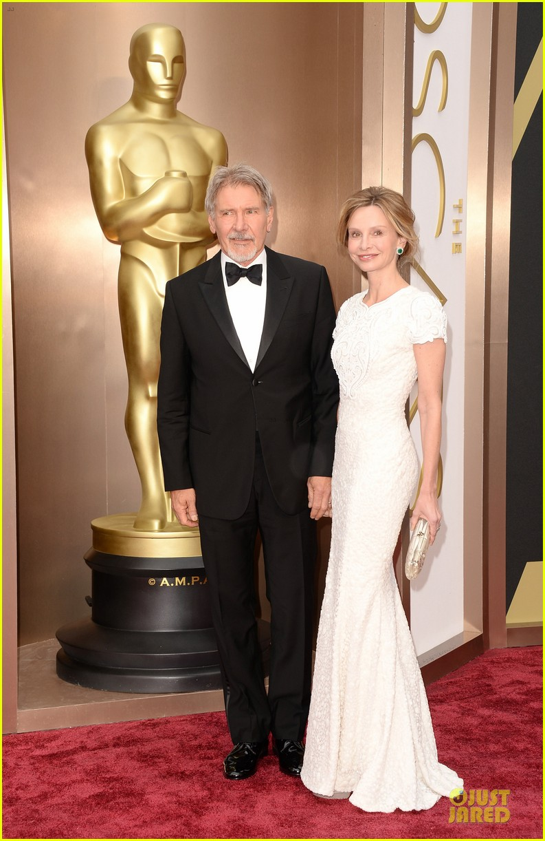 Harrison Ford Calista Flockhart 2014 Harrison Ford Calista
