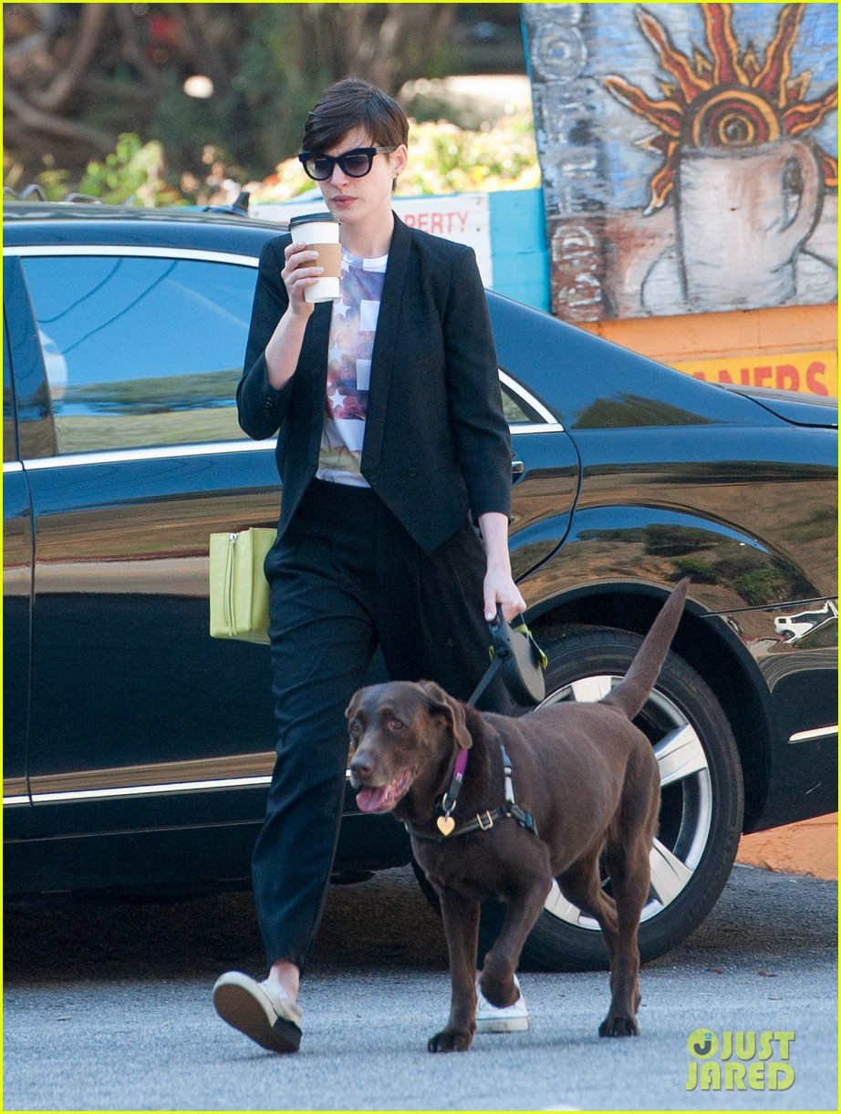 anne hathaway keeps busy in sunny los angeles 093071135