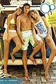 shirtless josh hendersons six pack is unreal in op ads with bikini clad nina agdal 05
