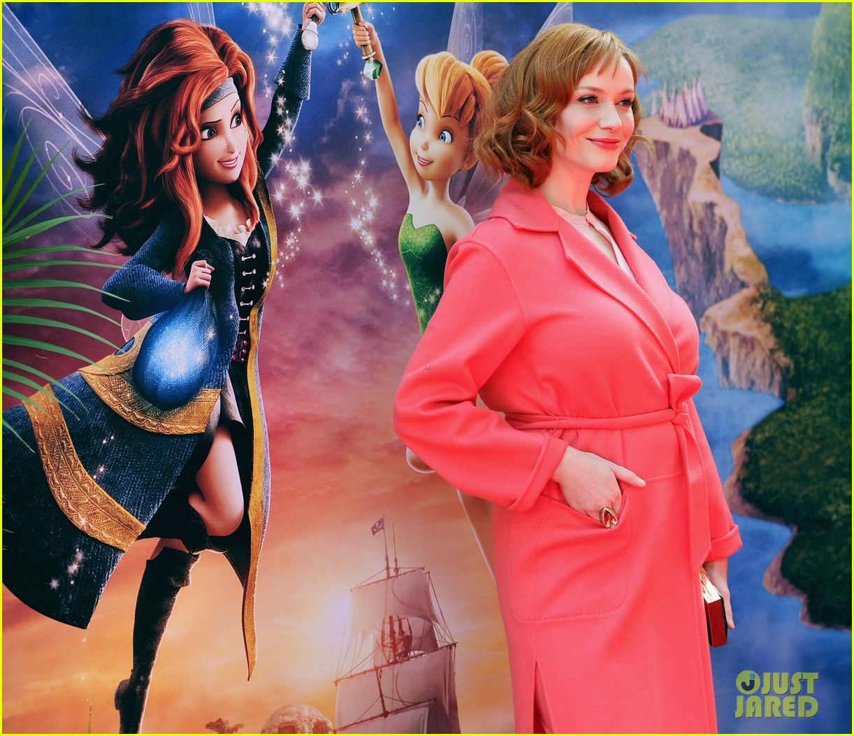 christina hendricks mae whitman pirate fairy premiere 07