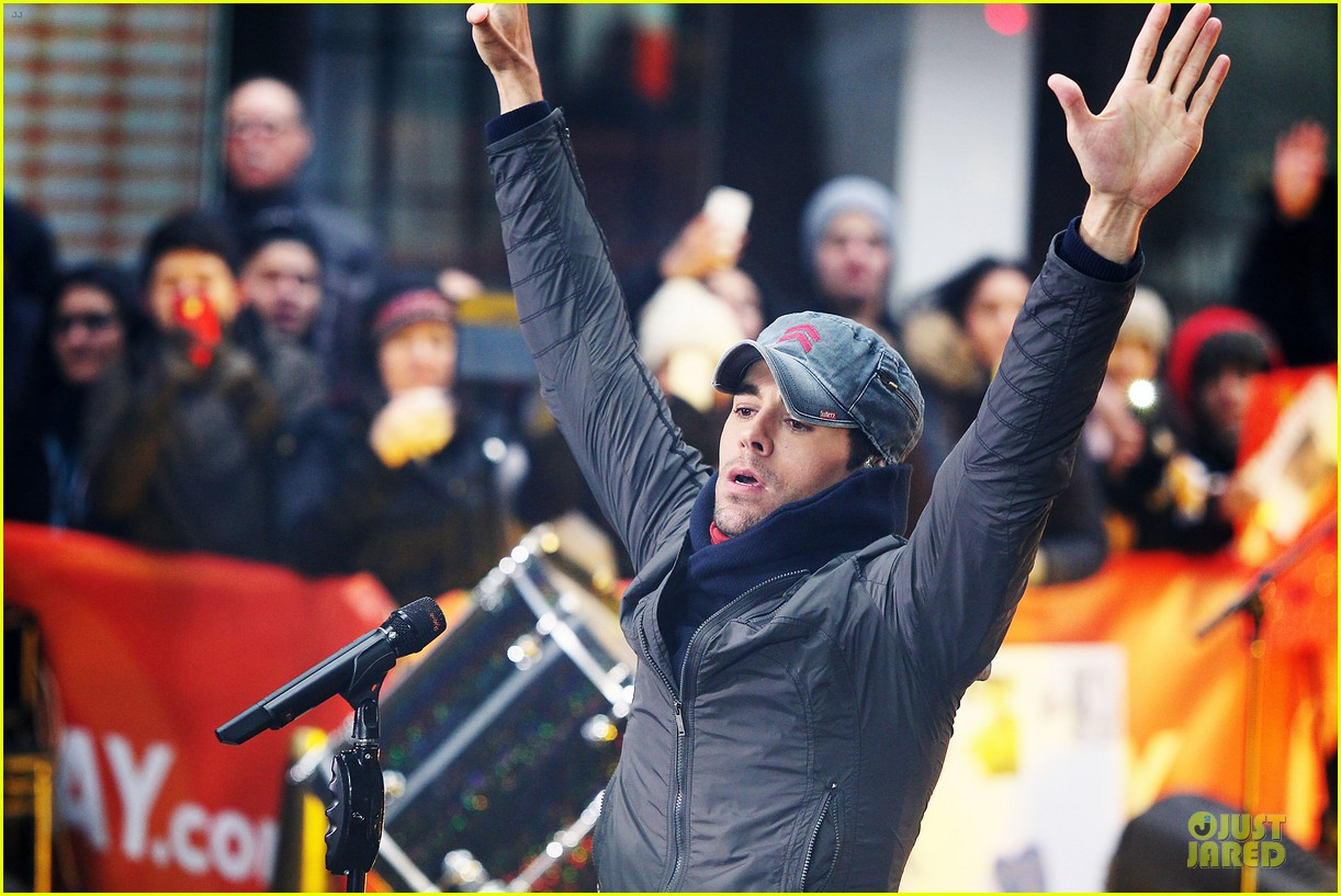 enrique iglesias heart attack on today show 13
