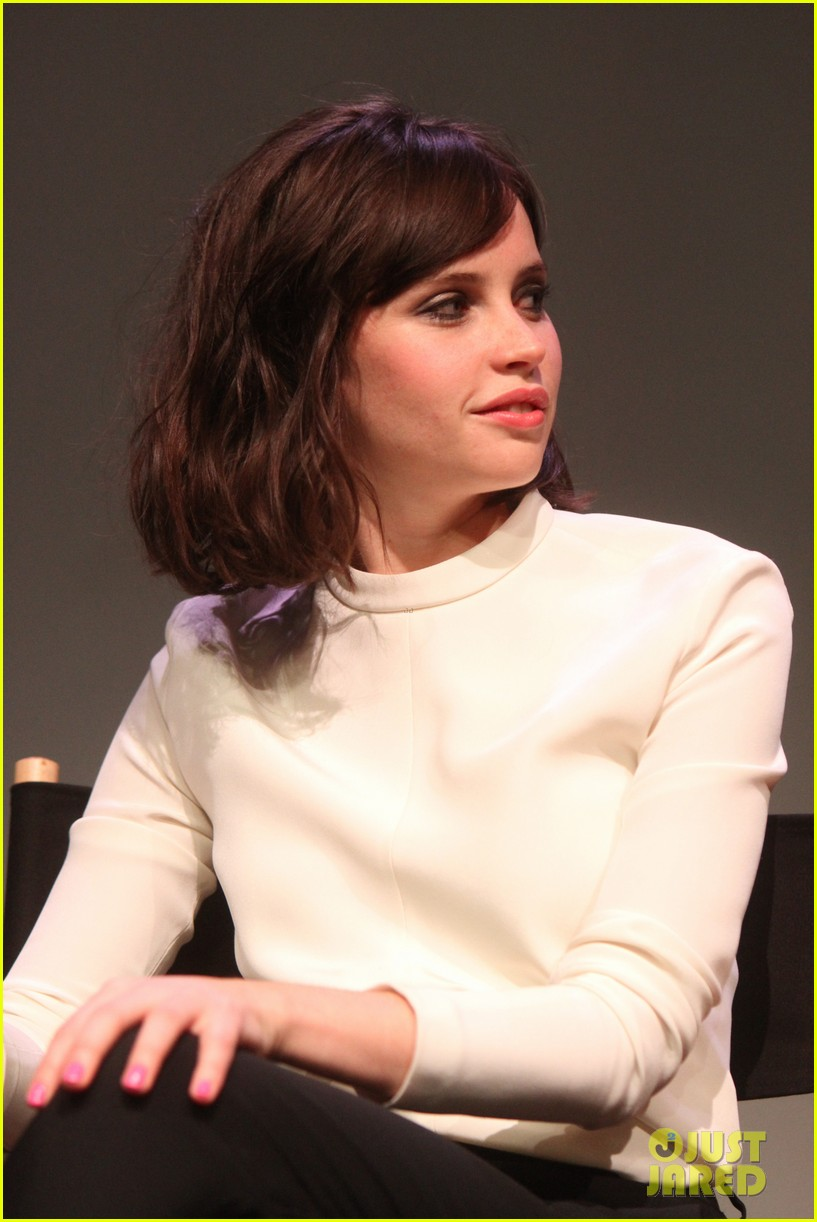 felicity jones breathe in screening apple store presents 06