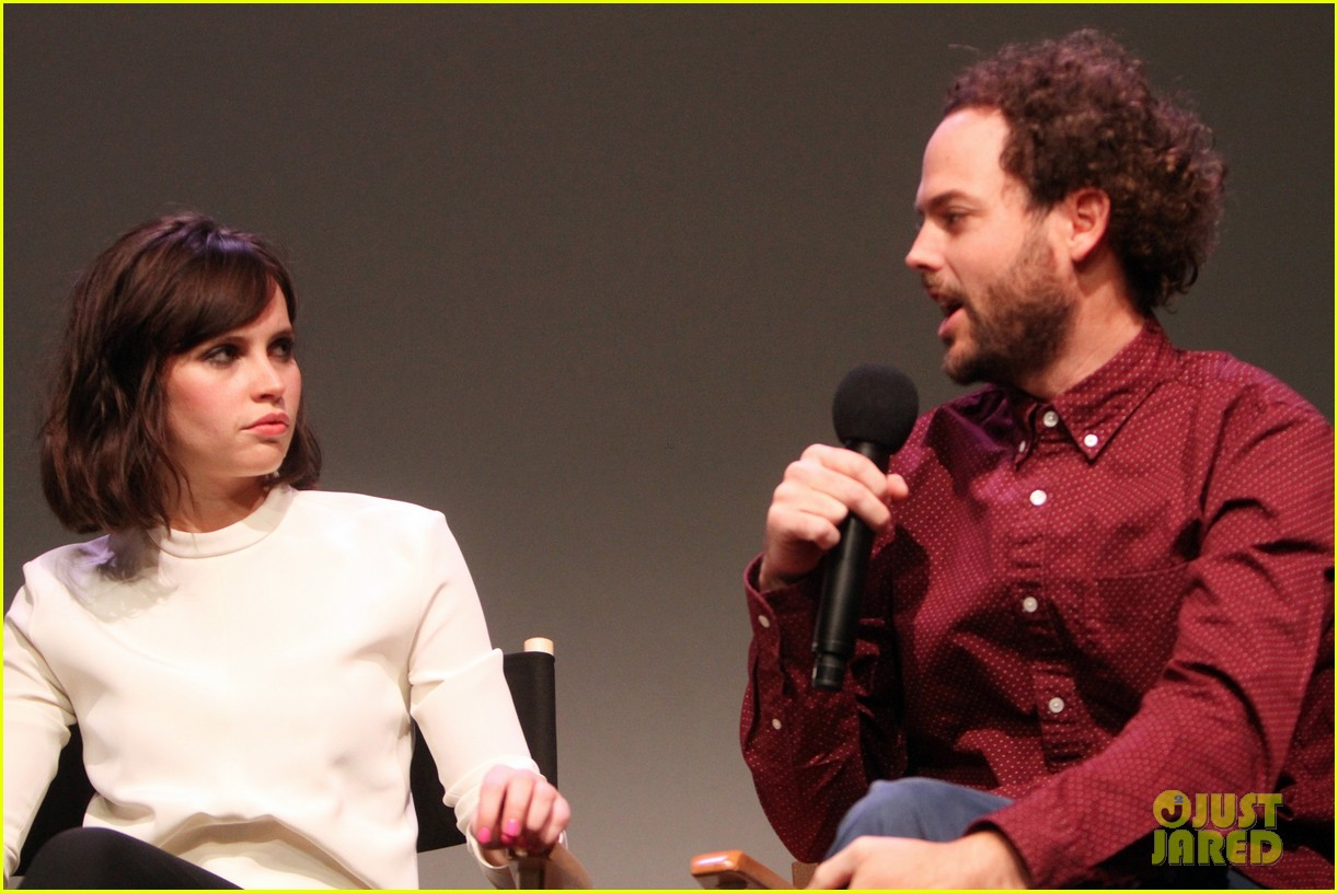 felicity jones breathe in screening apple store presents 08